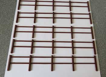 O Scale Lineside Fencing